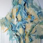Blau sitzend (Lisa) 80x100
