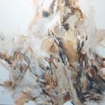 Braun sitzend (Elisa) 100x100
