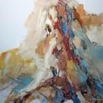 Braun sitzend (Katharina) 80x80