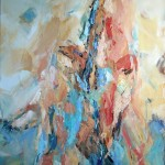 Doppelakt( Nina und Elisa) 80x70