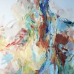 Rückenakt stehend (Elisa) 80x100