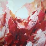 Männlicher Akt in Rot (Gerhard) 80x100