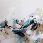 Rücken liegend (Elisa) 80x100