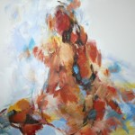 Rücken sitzend (Nina) 80x100
