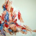 Sitzende (Nathalie) 100x100